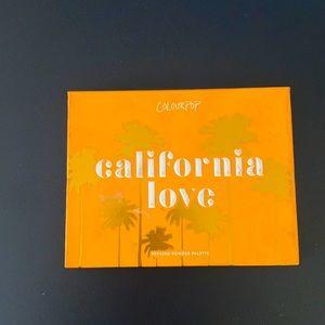 Colourpop California Love eyeshadow palette